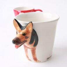 동물모양 머그컵