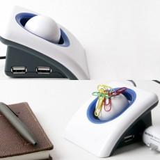 USB 허브 4포트 메모클립