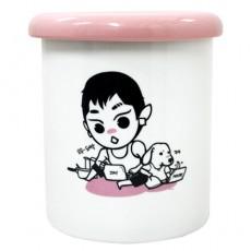 11온스 머그컵 (핑크 도넛츠 뚜껑)
