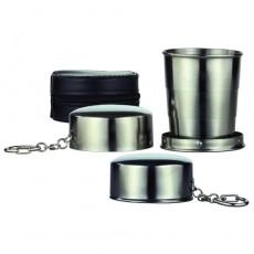 접이식 스텐등산컵(3단)(200ml)(GG-308)(가방포함)