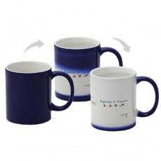 컵(도자기머그)-포토머그변색청색